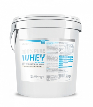 100% Pure Whey 4000g - BioTech USA