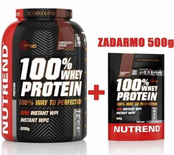100% WHEY PROTEIN 2250g + 500g ZADARMO - Nutrend