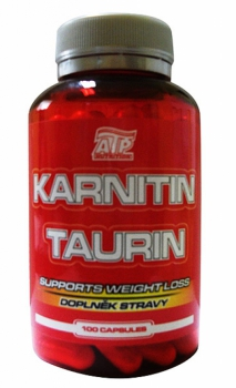 Karnitin + Taurin 100 kaps. - ATP