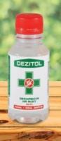 Antibakteriálna dezinfekcia na ruky s 99,9% účinkom proti vírusom 125ml - DEZITOL
