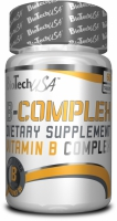 Natural Vitamin B-Complex 60 tab.