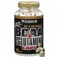 BCAA + L-Glutamine 180 kaps. - Weider
