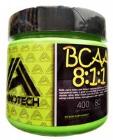 BCAA 8:1:1 400 kaps. - AminoTech