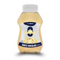 Bezkalorický sirup White Chocolate 350ml - GymBeam