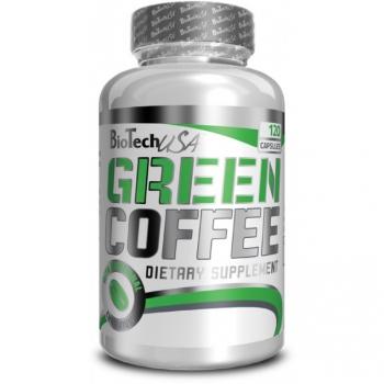 Green Coffee - Zelená káva  120 kaps. - BioTech USA
