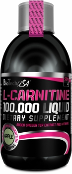 L-Carnitine 100.000 Liquid - 500 ml - BioTech USA