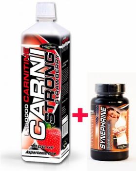 150 000 L-Carnitine 1200ml + Synephrine 80 kaps. - Explomax