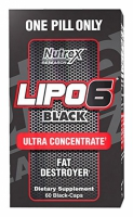 Lipo 6 Black Ultra Concentrate 60 kaps. - Nutrex