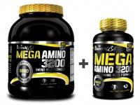 Mega Amino 3200 (300 tbl + 100 tbl) - BioTech USA