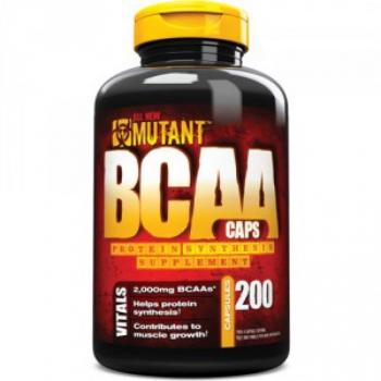 Mutant BCAA 200 kaps. - PVL