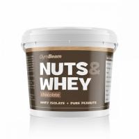 Proteínové arašidové maslo Nuts & Whey 1000g - GymBeam