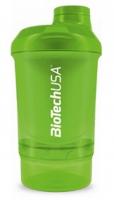 Šejker Nano zelený - 300ml + 150ml - BioTech USA