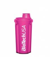 Šejker BioTech USA ružový 700ml