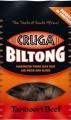 Cruga Biltong - 25g - sušené hovädzie mäso - Tandoori Beef
