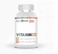 Vitamín D3 2000 IU 120 kaps. - GymBeam