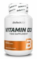 Vitamin D3 - 60 tbl - BioTech USA