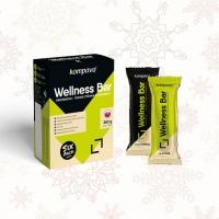 Wellness Bar Sixpack 6x60g - Kompava