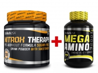 NitroX Therapy 340g + Mega Amino 3200 100 tab. - BioTech USA