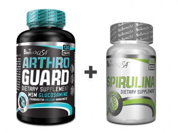 Arthro Guard 120 tbl + Spirulina 100 tbl