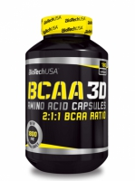 BCAA 3D 180 kaps. - BioTech USA