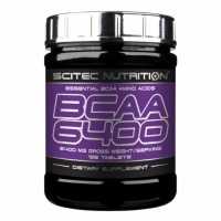 BCAA 6400 - 125 tab. - Scitec Nutrition