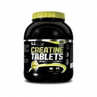 100% Creatine Monohydrate tablety 200 tab. - BioTech USA