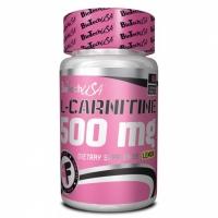 L-Carnitine 500mg (cmúľacie tablety) 60 tbl. - BioTech USA