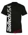 BioTech USA pánske tričko - čierne