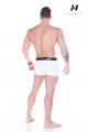 Exkluzívne pánske boxerky 101 biele - NEBBIA