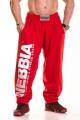 HardCore Fitness tepláky 310 červené - NEBBIA