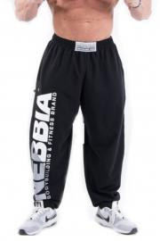 HardCore Fitness tepláky 310 čierne - NEBBIA