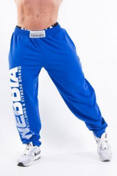 HardCore Fitness tepláky 310 modré - NEBBIA