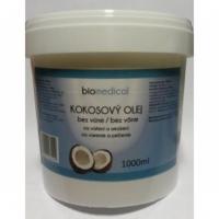 Kokosový olej 1kg (1000ml) SKLO