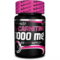 L-Carnitine 1000mg 30tab. - BioTech USA