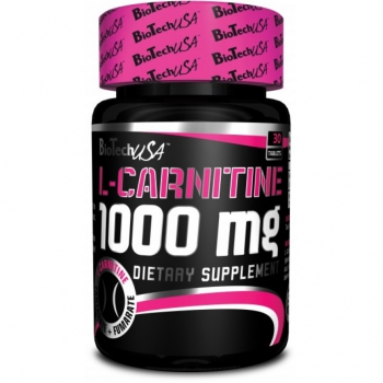 L-Carnitine 1000mg 30tab. - BioTech USA