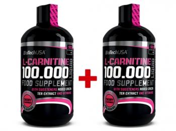 L-Carnitine 100.000 Liquid 2x500ml - BioTech USA