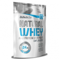 Natural Whey 454g - BioTech USA