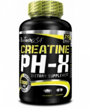 BioTech USA Creatine pH-X 210 kaps.