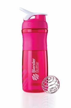 Športová fľaša a šejker Sportmixer 2v1 820ml ružová - Kompava