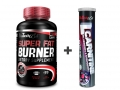 Akciový balíček Super Fat Burner 120 tbl + L-Carnitine šumivý 20 tbl