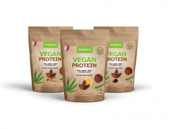 Vegan Protein 525g - Kompava