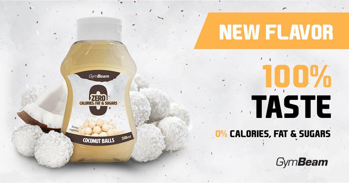 Bezkalorický sirup Coconut Balls 350 ml - GymBeam  1cb9703947d